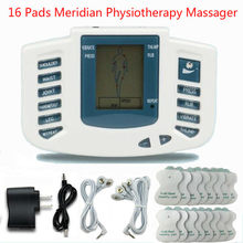 Full Body Tientallen Acupunctuur Elektrische Therapie Massager Meridian Fysiotherapie Massager Afslanken Puls Massage Apparaat(China)