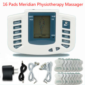 Full Body Tens Acupuncture Electric Therapy Massager Meridian Physiotherapy Massager Slimming Pulse Massage Apparatus