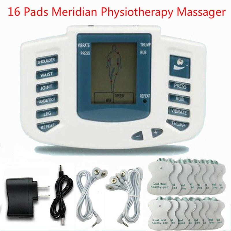 Tam vücut onlarca akupunktur elektrik terapi masajı meridyen fizyoterapi masajı zayıflama darbe masaj aparatı
