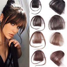 Hair-Clips Bang Good Hair-Styling-Accessories Fringe Synthetic-Hair False Front High-Quality