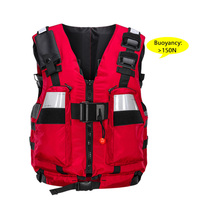 Rescue Life Vest Jacket Multifunctional adult Life Jacket For climbing rescue boats Drifting Upstreaming Water Sports Activities