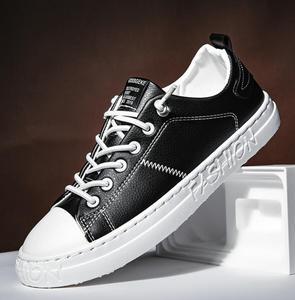Image 1 - tenis masculino Men Sports shoes 2020 fashion board shoes men trend breathable white sneakers basket zapatillas blancas hombre