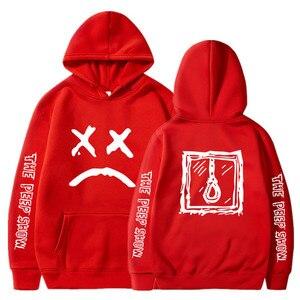 Мужские толстовки с капюшоном Lil, пуловер с капюшоном и надписью Love lil. Peep, S-XXXL