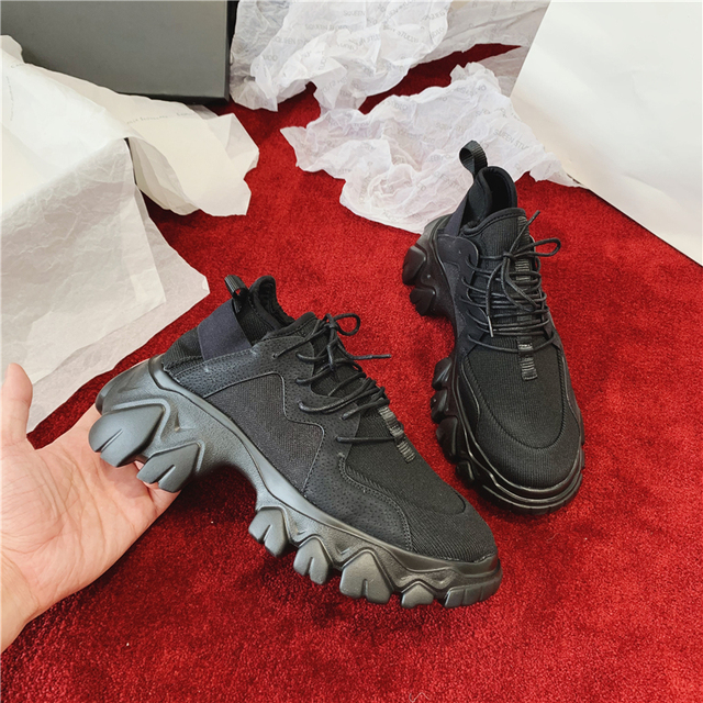 Women Stretchy Platform Shoes Trainers