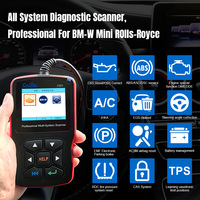 Creator C501 OBD 2 Car Diagnostic for BMW e46 e39 e90 e60 Diagnostic Scanner Code Reader AC EPS Oil Service Reset EPB ABS Airbag