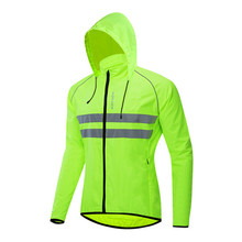 bike cycling jacket hooded riding cycle clothes bicycle long sleeve jerseys vest reflective wind coat cycling jacket rain jacket wosawe windproof cycling jackets men women riding waterproof cycle clothing bike long sleeve jerseys sleeveless vest wind coat