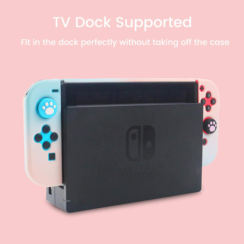 Detachable Colorful PC Case Fundas For Nintendos Nintend Switch NS NX Cases Hard Plastic Back Cover Shell Coque Ultra Thin 4