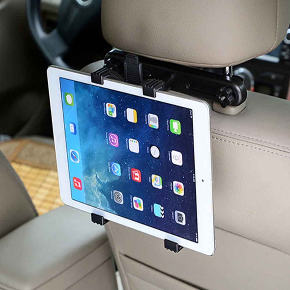 Universal Car Seat Mount Telescopic Tablet Holder Bracket Clamp Rack for iPad for Car for Universal Tablet