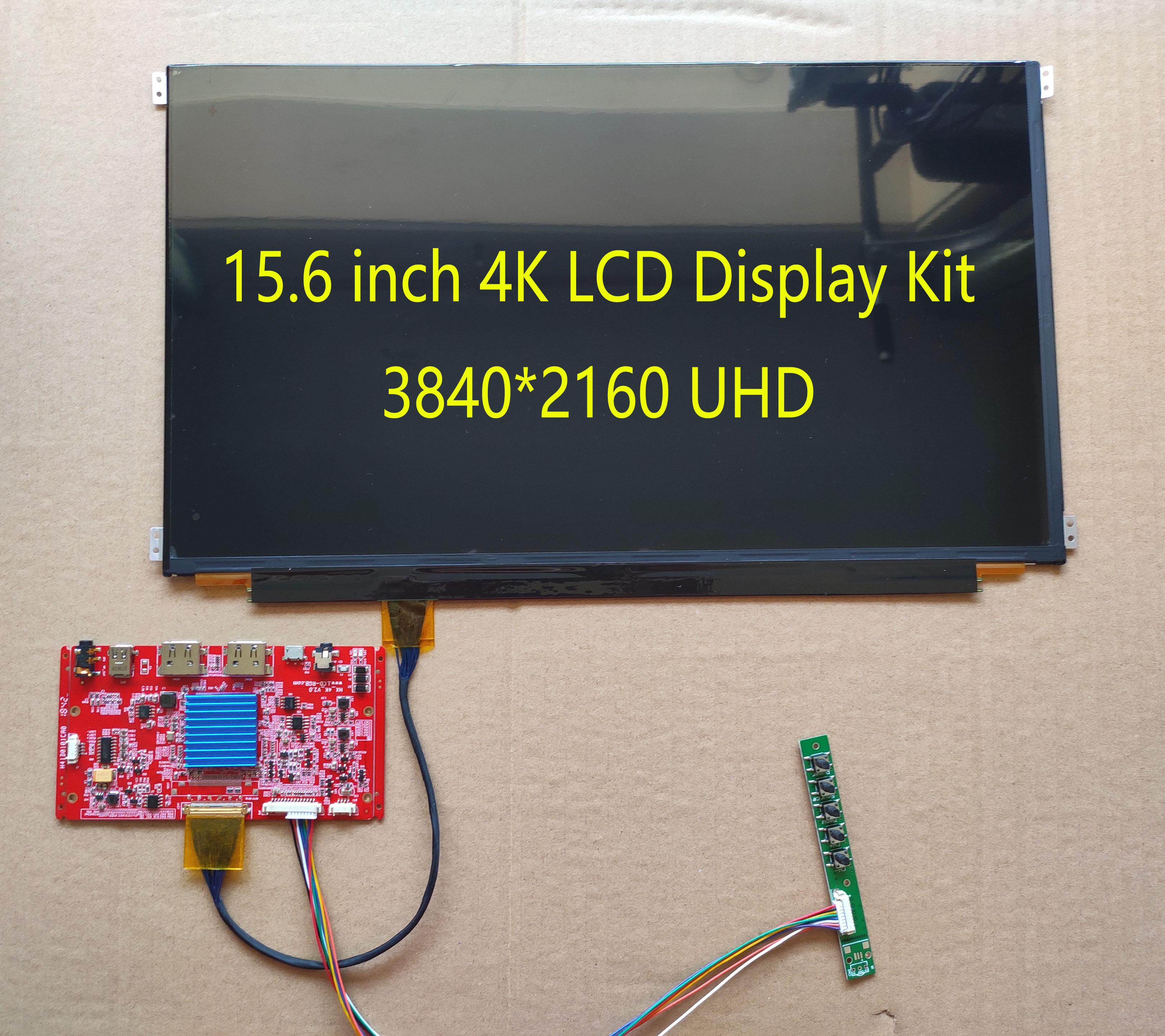 15.6inch LQ156DM1JW04 3840*2160 4K UHD HDMI Display Kit 10fingers Touch Screen