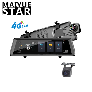 Myatt star 10-inch car streaming drive recorder Touch 1080 P Dvr 4G Android Adas rear view camera navigator