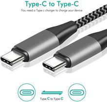 USB C TO USB C Cable USB PD 60W For Samsung S 20 10 Note10 Note9 For Fast Charging USB C Wire for Macbook Air HUAWEI P20 P30 Pro
