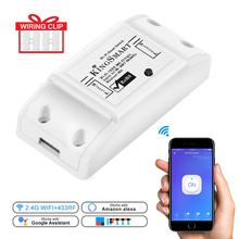 RF WiFi Smart Switch 433Mhz Receiver Intelligent Remote Wireless Control For Home Wifi