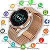 LIGE  2020 New Smart Watch Women Men Heart Rate Blood Pressure Sport Multi-function Watch fitness tracker Fashion smartwatch+Box