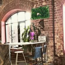 Имитация газона растение стены дома сад пластиковые цветы свадебный зал отель фон украшения стены Зеленые искусственные растения