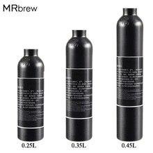 Газированная вода 0.6л емкость для бутылок цилиндр с клапаном TR21* 4 высокой сжатой бутылки с заправкой соды адаптер W21.8-14 или CGA 320