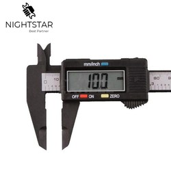 6 cal LCD cyfrowy elektroniczny noniusz z włókna węglowego suwmiarka pomiar mikrometryczny 0 150mm|vernier caliper gauge micrometer|caliper gauge micrometergauge micrometer -