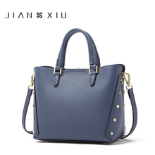 JIANXIU Brand Luxury Handbags Women Bags Designer Genuine Le