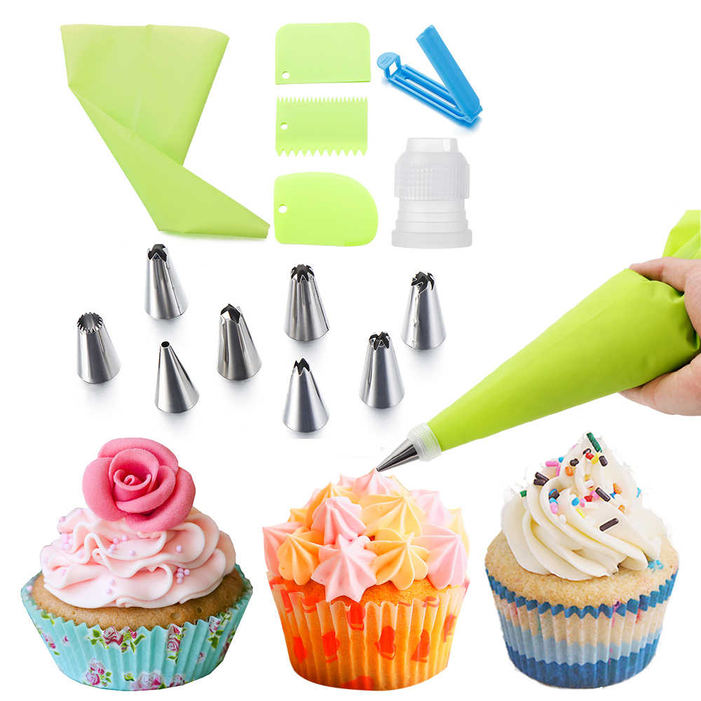 Accessories Cake Decorating Baking Mold Ice Cream Tool Icing Piping Nozzles