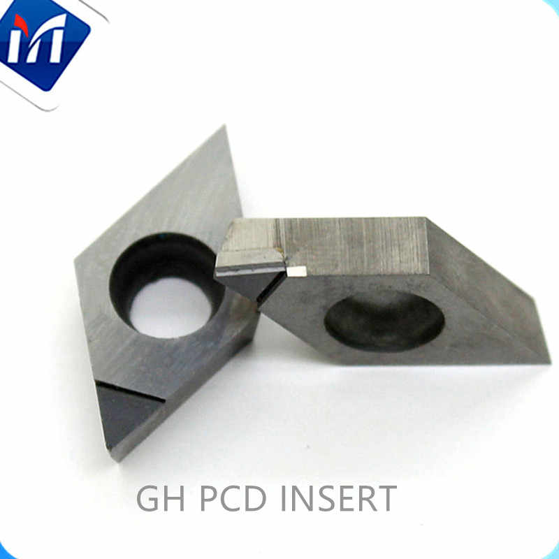 יהלומי Pcd CNC מוסיף DNGA150408 DCMT DCGW11T304 VNGA מחרטת כלים CBN חותך להפיכת אלומיניום אקריליק פליז פלסטיק עץ
