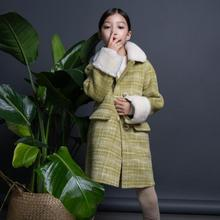 Winter Fashion new children Double-faced Wool Coat Double-breasted cashmere overcoat Modis kids jacket Wool Outerwear Y2280