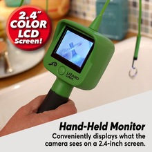 Monitor Waterproof Lizard with LED Cam-Light Color-Lcd-Screen DROPHIP Micro-Inspection-Camera