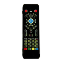 ir למידה T16 עם תאורה אחורית קול אייר עכבר עם RF 2.4G מקלדת מסך מגע מרחוק עם למידה IR עבור אנדרואיד טלוויזיה תיבת IPTV Smart TV (5)