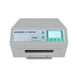Image 5 - Puhui T962 800W équipement de reflux T962 four de reflux infrarouge IC chauffage BGA SMD SMT Station de reprise