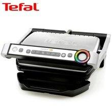 Электрогриль Tefal Optigrill+ GC712, 6 программ, для стейков, Тефаль, автоматическое приготовление+ книга с рецептами в подарок