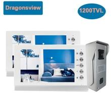 Video-Intercom-System Doorbell-Camera House Villa 1-Monitor Unlock Night-Vision 7inch