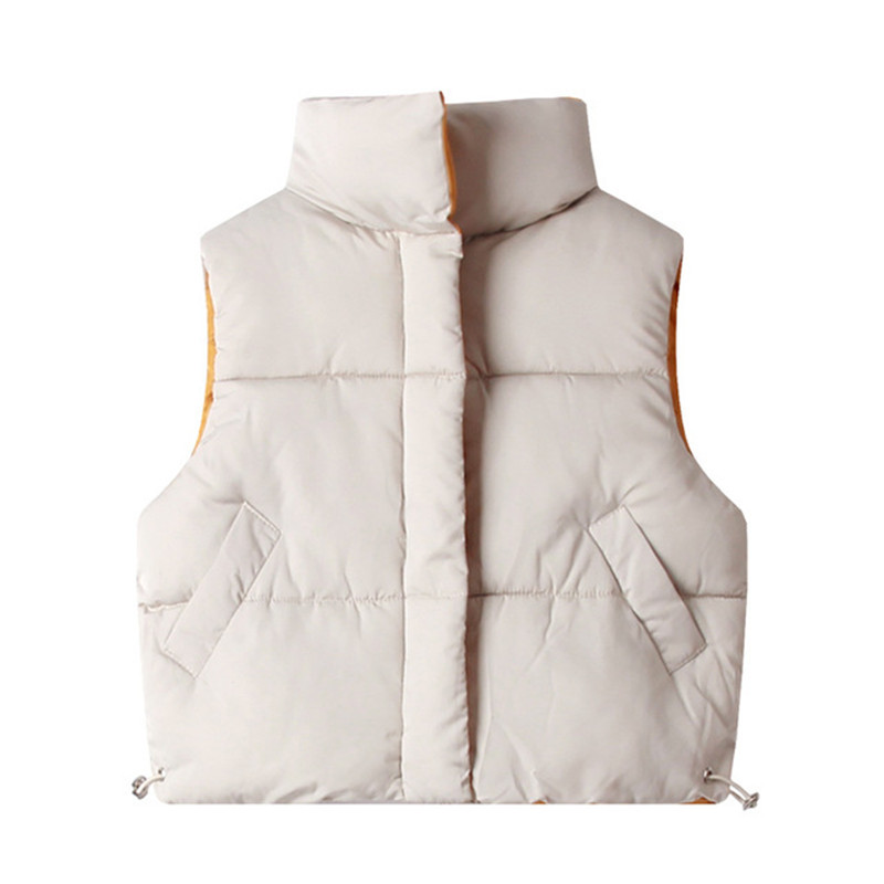 New autumn winter children vests 3-10 years warm waistcoats for boys & girls thick vests kids sleeveless jacket yellow red color 1