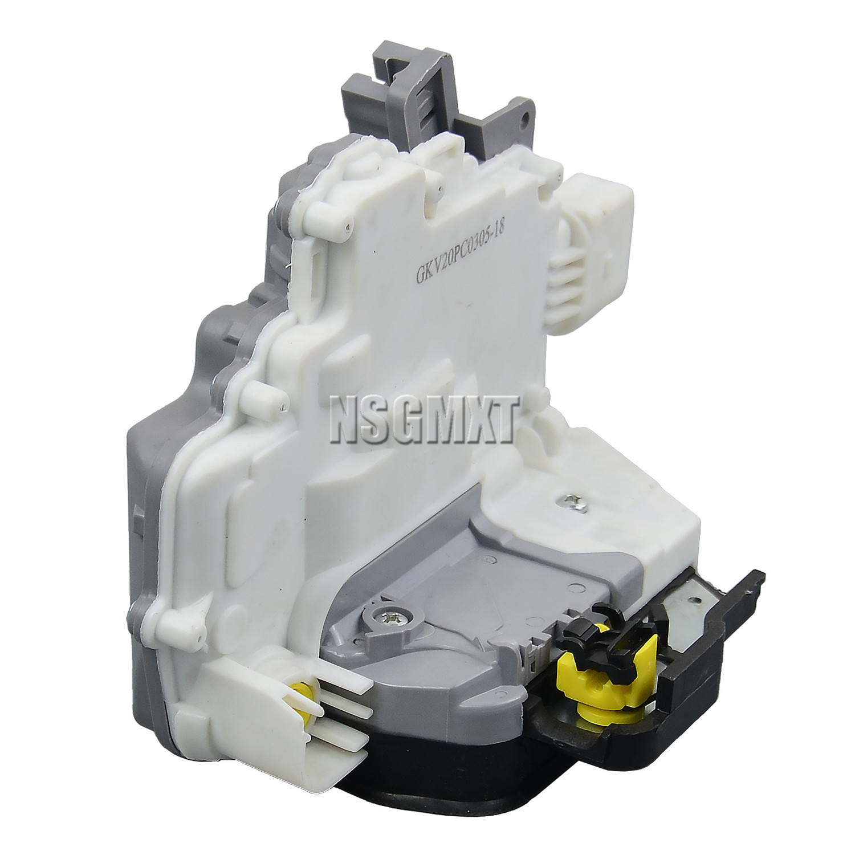 Flynsu Door Lock Actuator Front Right Driver Side for A3 8P1 A6 4F2 C6 Allroad A8 4E 2004-2013 1.6 TDI 8E2837016AA 4F2837016E