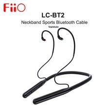 FiiO LC BT2 AK4331 DAC z pałąkiem na kark sport bluetooth 5.0 kabel MMCX 0.78mm złącze SBC/AAC/aptX/LDAC dla FH7 FH3 FA9