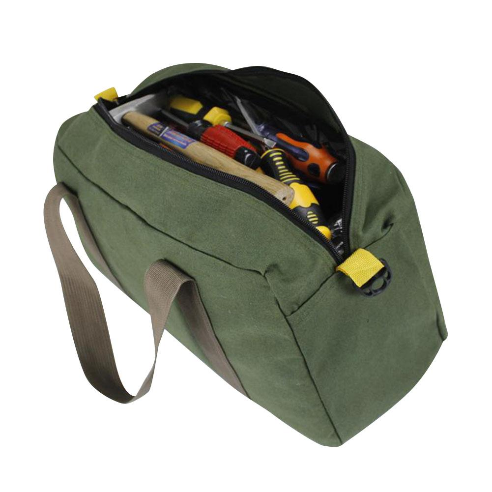 Portable Oxford Fabric Tool Storage Bag Multi-function Thick Electrician Bag Wear-resistant Outdoor Repair Toolkit