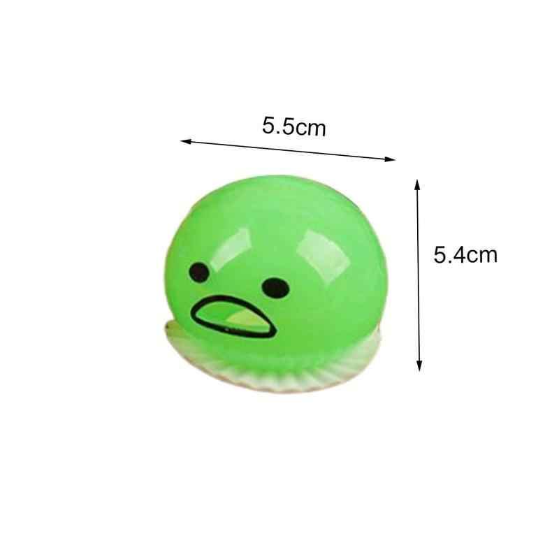 Nouveau jouet de décompression pour enfants parfumé 3 couleurs Antistress spongieux Jumbo Kawaii vomissant jaune d'oeuf amusant