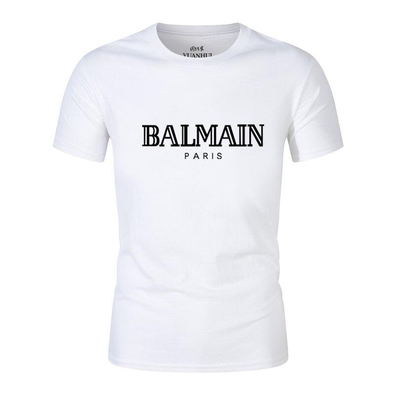 Mens T Shirt  Fit Crew High-quality Neck T-shirt Men Short Sleeve Shirt Casual Tshirt Size S-2XL Tee Tops Short Shirt
