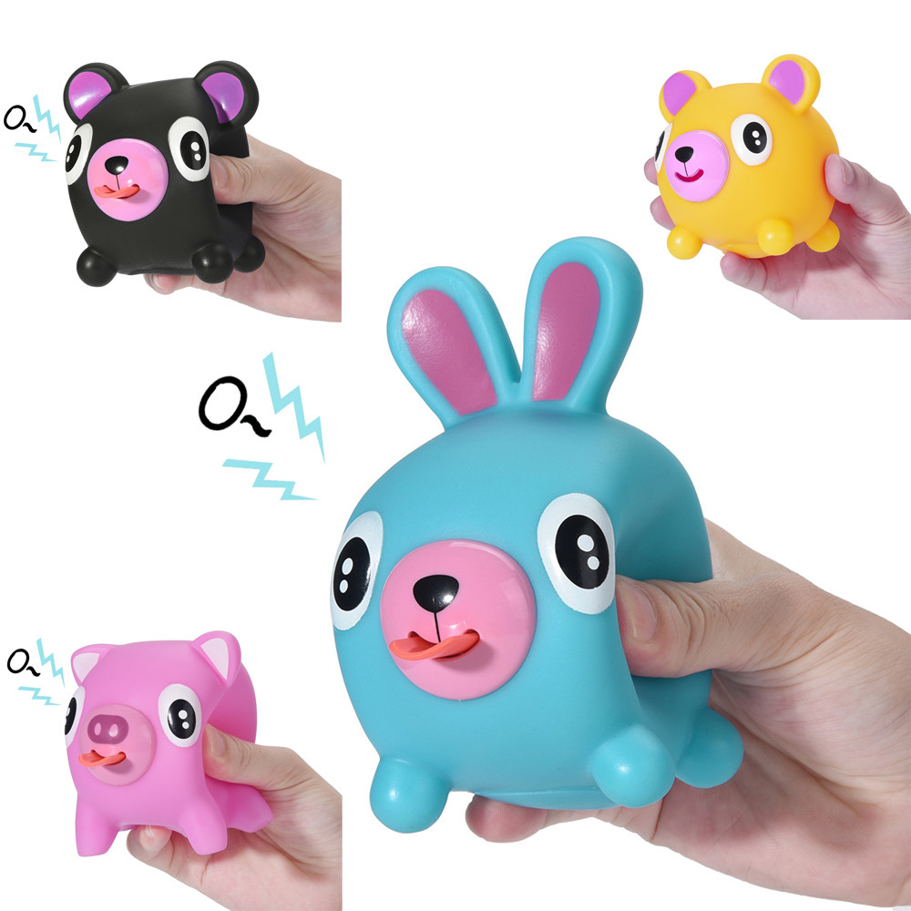 Toys For Children Cute Squeeze Stress Tongues Alternative Humorous Light Hearted Funny Toy Kids Toys Juguetes De Descompresion
