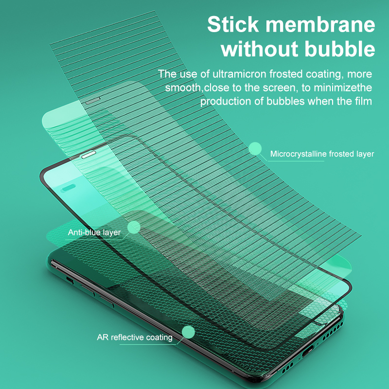 Jellico 0.3mm Full Coverage Tempered Glass For iPhone Xs Xs Max XR 2018 Screen Protector Thin Protective Glass For iPhone X Xs
