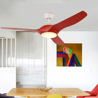 52 inch Modern Ceiling fans light With remote control Bedroom Fan Lamp Living Room Dining Kids Study Office Ceiling Fan Lamps