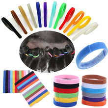 12 pçs cores identificação identificação coleiras bandas filhote de cachorro gatinho cão animal de estimação gato colar marcação nascimento pedido entrega rápida