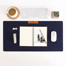 Office Accessories Computer Gamer Table Mat Non-slip Felt Laptop Cushion Big Desk Mat Keyboard Mat Large Gaming Mouse Pad