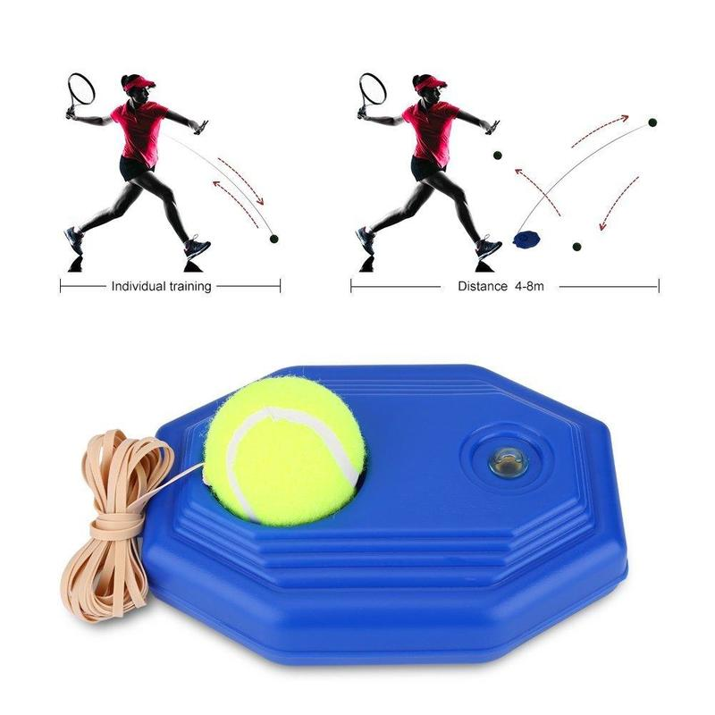 2020 Tennis Supplies Self-study Baseboard Player Tennis Training Aids Ball Trainer Practice Tool Supply With Elastic Rope Base