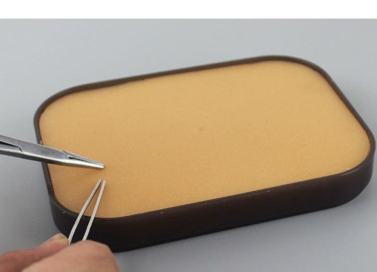 Cirurgia sutura prática modelo módulo pele silicone modelo prática cirúrgica silicone suprimentos médicos equipamentos de laboratório