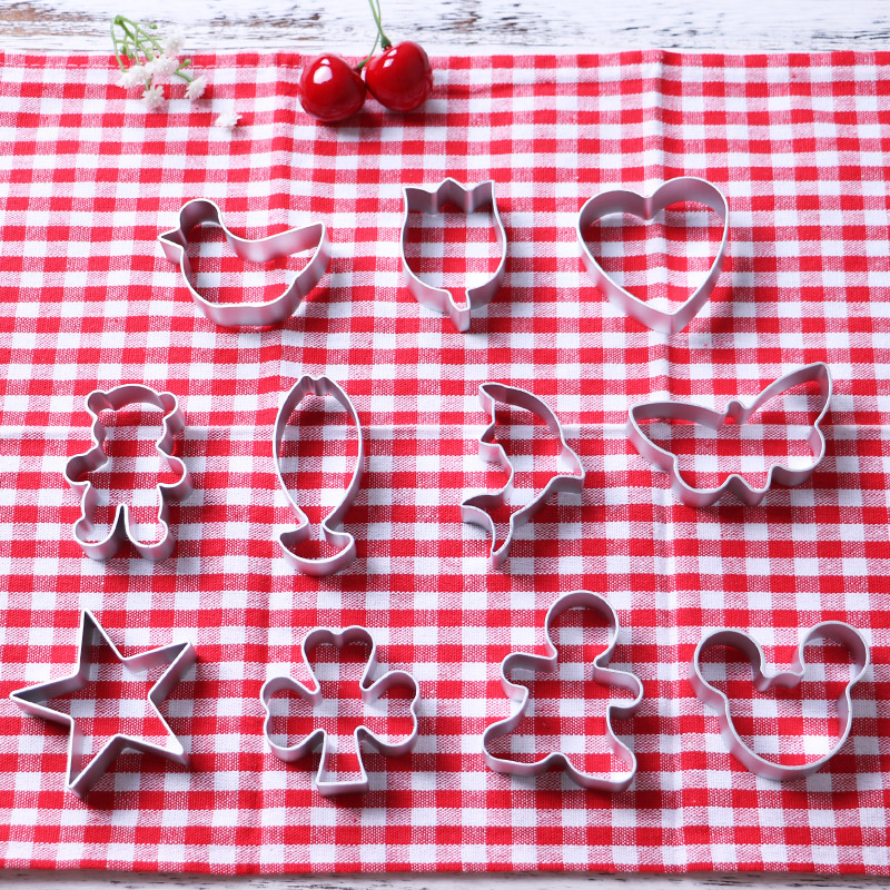 Cookie Cutter Biscuit Press Stamp Embosser Sugar Pasty Cake DIY Baking Mould Pasteleriay Reposteria Accesorios Baking Tools