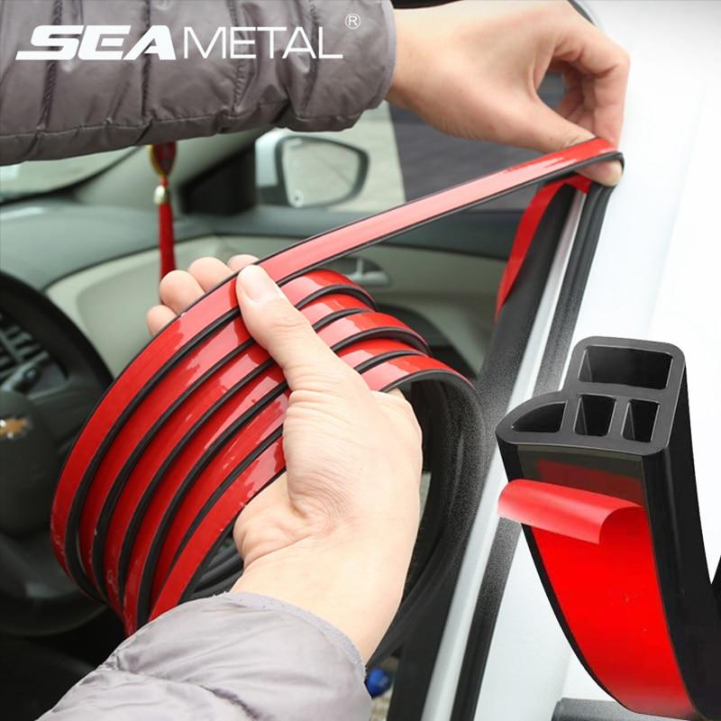Двери автомобиля резиновые уплотнительные полоски автоматическая машина для Слои Уплотнения наклейки для дверь багажника звук изоляционн...