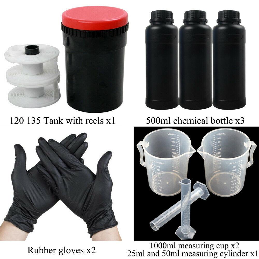 Darkroom Spiral Reel for AP Paterson Kaiser Film Developing Tank 120 127 135 Multi-Format Film Holder Camera Processing Accessories Kit