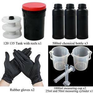 120 135 Film Developing Tank Equipment Kit B&W Color Negative Process Darkroom