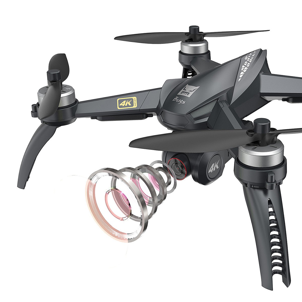 MJX B5W Дрон gps бесщеточный 5G RC Квадрокоптер Модернизированный 4K Wifi Дрон FPV камера HD Авто возврат 20 мин дроны время полета игрушки - 4