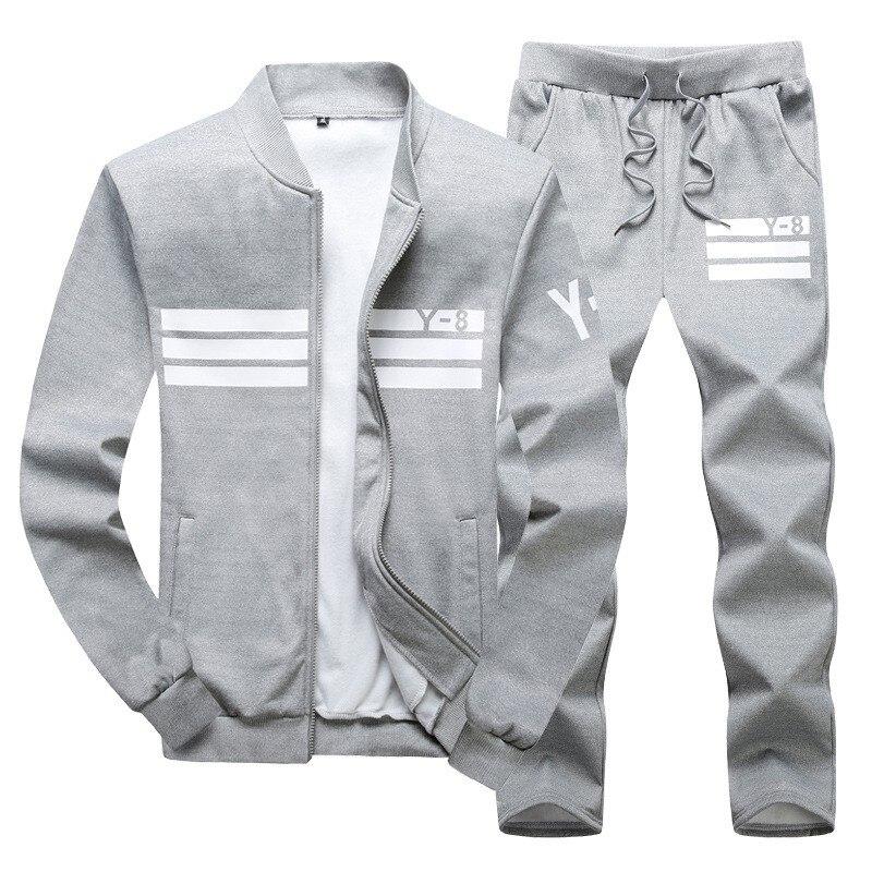 2020 Men's  Sport Suit Men Running Clothes Sport Wear Yoga Set  Fitness Hombre Suits Running Leggings Jogging Men's Set