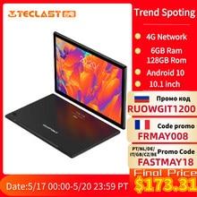 Teclast – tablette PC réseau 4G Android 10 de 10.1 pouces, T618 Octa Core, double appel téléphonique, 1920x1200, 6 go de RAM, 128 go de ROM