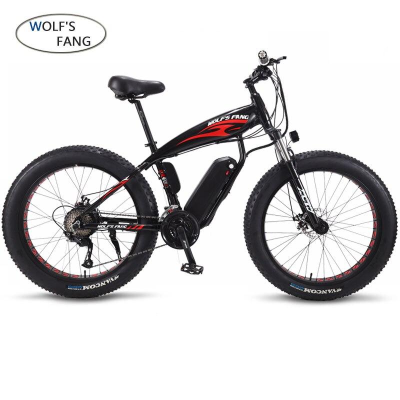 Bicicleta elétrica 26x4.0